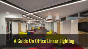 the guide of office linear light
