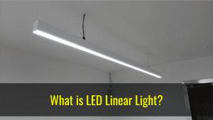 pendant led linear light