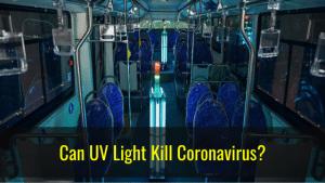 Can UV light kill coronavirus