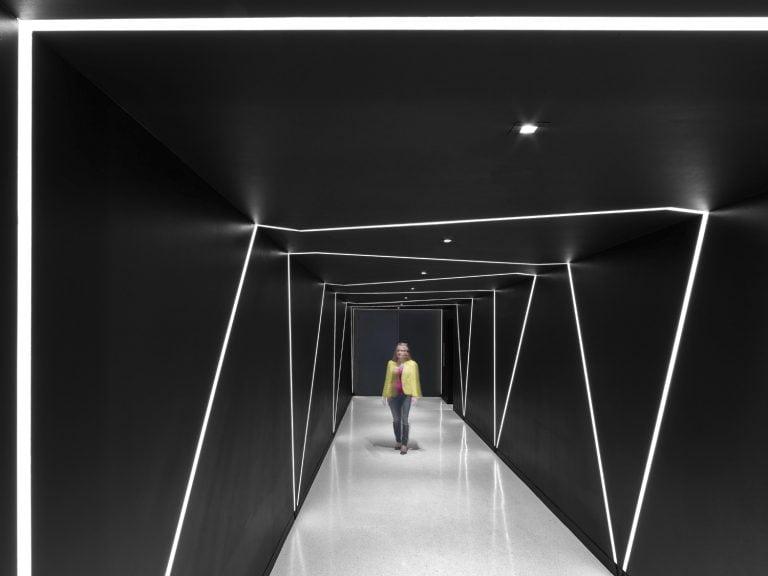 hallway recessed wall light