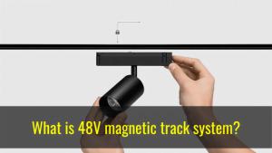 48v magnetic track lighting system